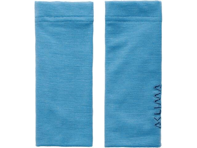 Aclima WarmWool Polswarmer, azure blue